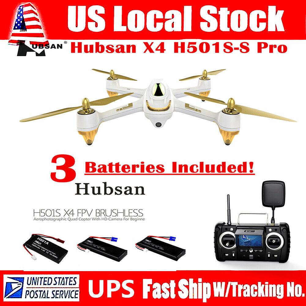 Hubsan H501S X4 Pro FPV Drone 5.8G Brushless 1080P  HD telecamera GPS RC Quadcopter  molte concessioni