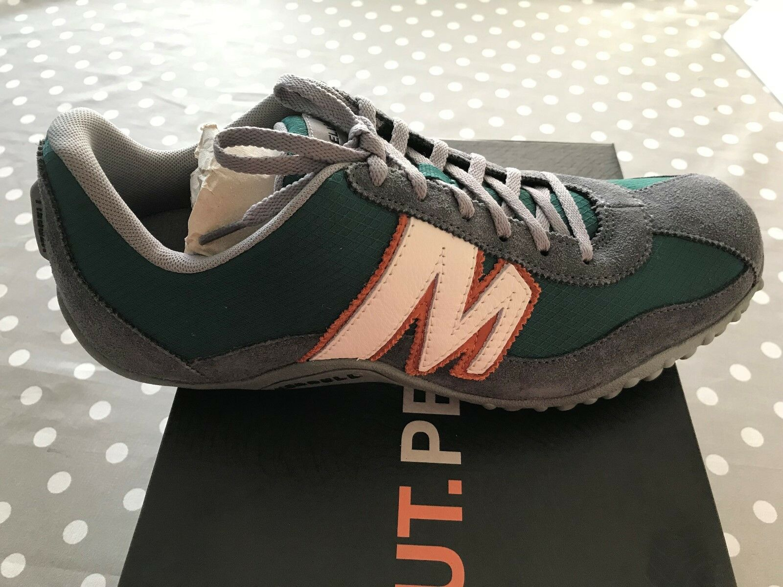 zapatos MERRELL SPRINT BLAST SUEDE MESH LEATHER - NR 41 - NUOVE - J598167