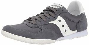 Saucony Originals Men's Bullet Classic Sneaker, Grey Cream, Size  3Wnz