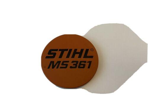 Original STIHL MS 361 Typenschild