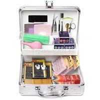 Pro False Lashes Extension Eyelash Micro Brushes Glue Box Tool Kit Beauty Makeup