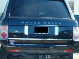 Range Rover Sport 2005-2013 Chrome Coffre Arrière Hayon Couvercle Molding Trim S. Steel-afficher Le Titre D'origine Mfqopjgp-07212133-646740487