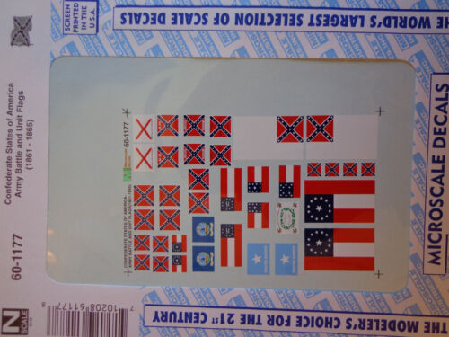 Army Battle and Uni Microscale Decal N  #60-1177  States of America