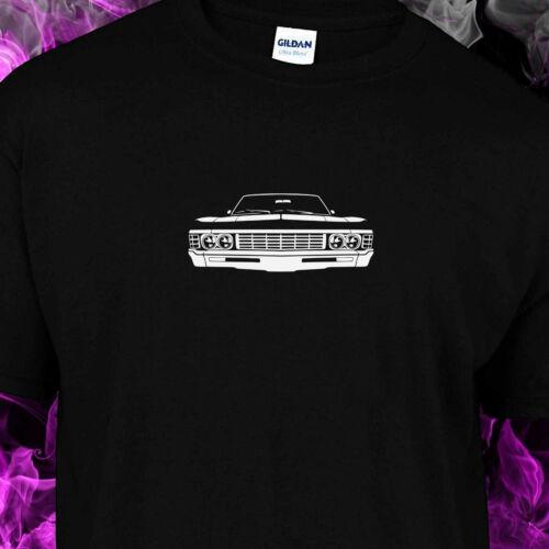S-Macro Complémentaire d/'Excel Supernatual 67 CHEVROLET IMPALA-T-shirt noir femme