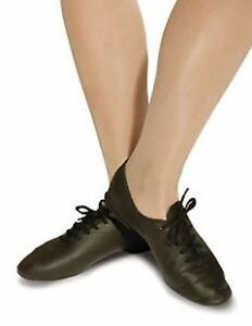 various sizes available Roch Valley Jazz Shoes BLACK Leather Full Micro Sole