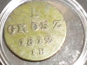 1856. 1 grosz grosch 1812 IB Polen Polska Polonia - Wagrowiec, Polska - 1856. 1 grosz grosch 1812 IB Polen Polska Polonia - Wagrowiec, Polska