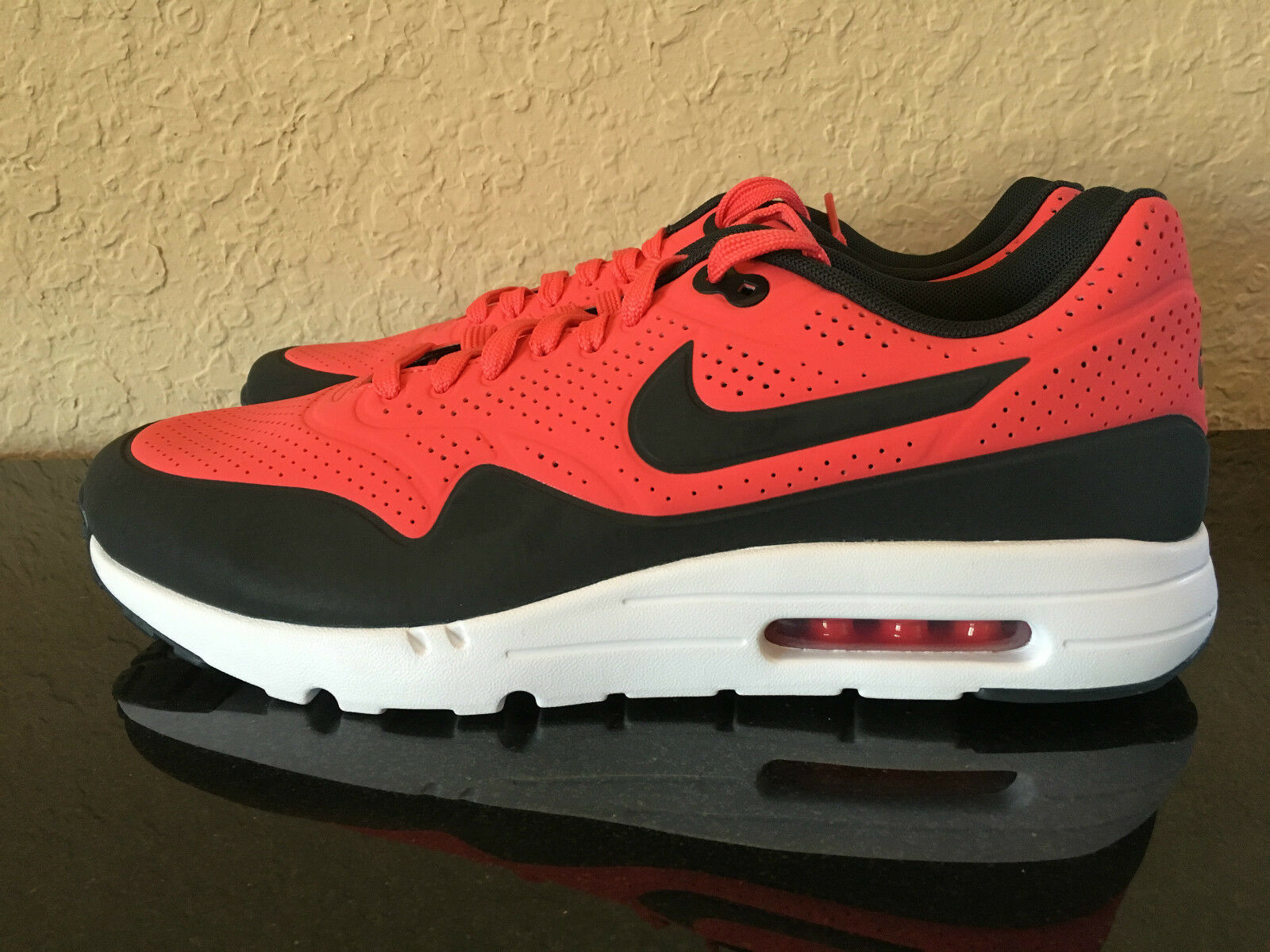 best website f2926 c0430 ... MENS NIKE AIR MAX 1 ULTRA MOIRE MOIRE MOIRE RIO RED cb848a ...