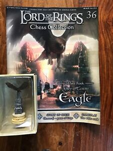 MAGAZINE LORD OF THE RINGS CHESS COLLECTION 13 OSGILIATH EAGLEMOSS FIGURE ROOK