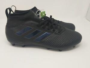84d56bf9d578 Adidas ACE 17.3 FG Men s Soccer Boots Cleats SZ 13 Core Triple Black ...