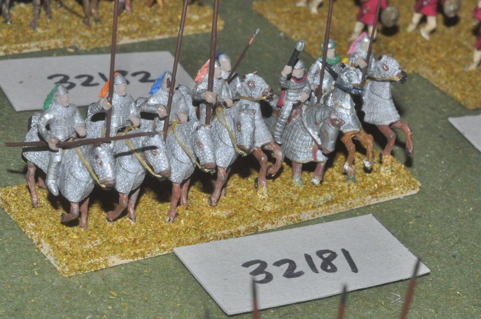 25mm roman era   persian - cataphracts 8 figures - cav (32181)