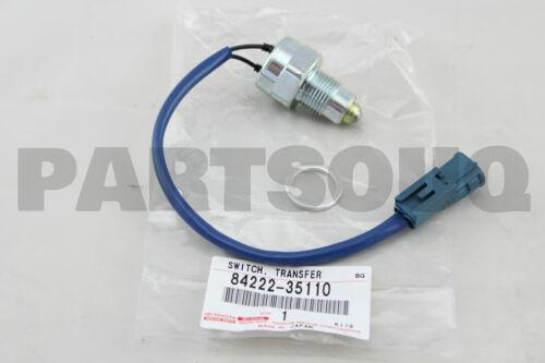 DEFFERENTIAL LOCK INDICATOR 84222-35110 8422235110 Genuine Toyota SWITCH