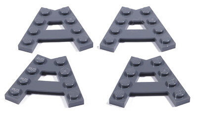 Keilplatten 45° A-Form Wedge neues Dunkelgrau NEU 4X Lego® 15706 Eck