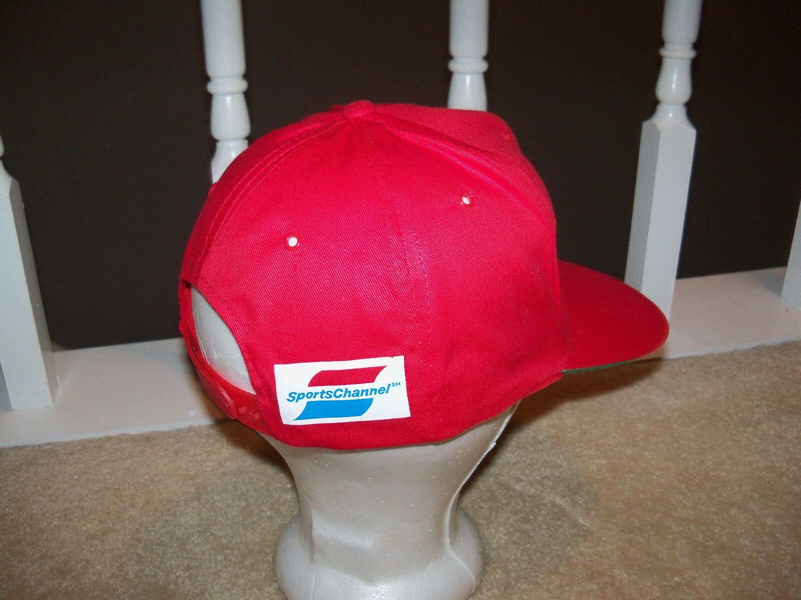 Vintage Cincinnati SPORTSCHANNEL reds baseball snapback hat SPORTSCHANNEL Cincinnati APC 0017c2