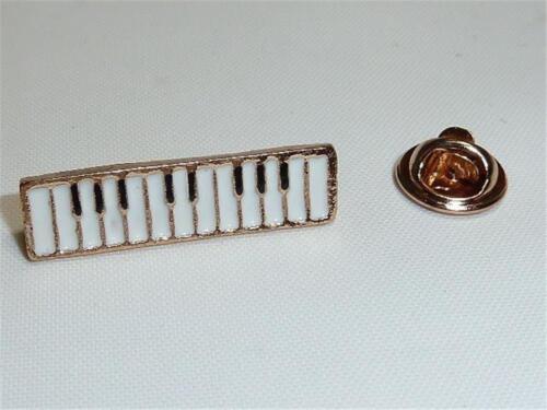 W2363 Vergoldet /& Emaille Piano Krawattennadel Oder Anstecknadel