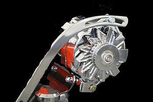 SBC-Small-Block-Chevy-Driver-Top-Mount-Alternator-Bracket-SWP-Short-Water-Pump