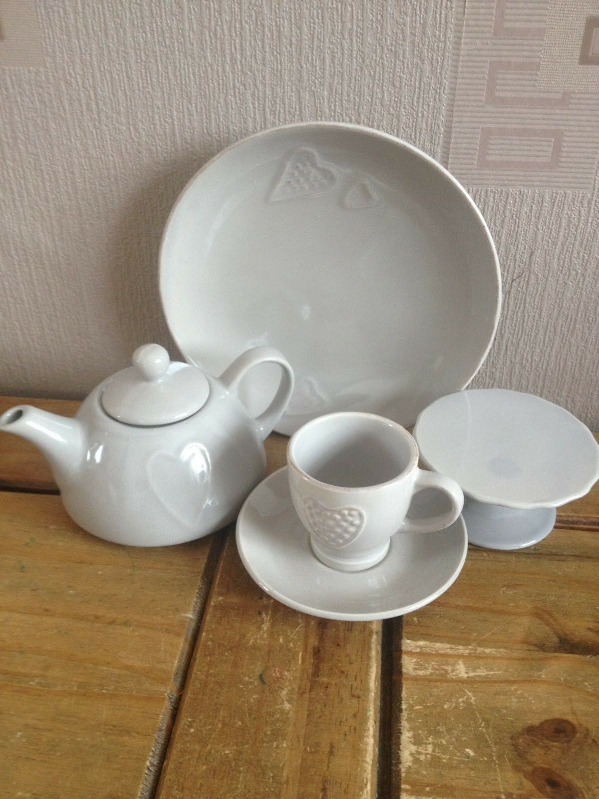 Appletree BV    Mini  tea set   ,  grau stoneware 574343