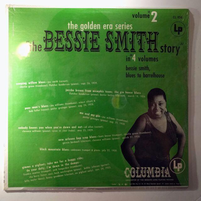 Sealed Vinyl Record Bessie Smith The Bessie Smith Story - Volume 2  CL 856