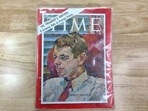 Vintage Time Magazine - February 16, 1962 - Robert F. Kennedy