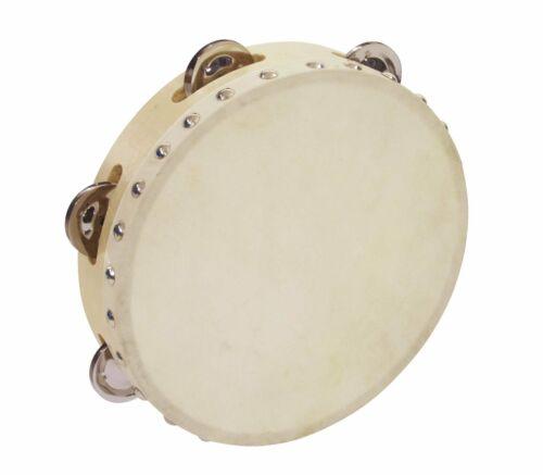 mit 8 Schellenpaaren DIMAVERY DTH-106 Tamburin 25 cm