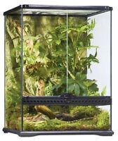 Exo Terra Glass Terrarium, 18 By 18 By 24-inch