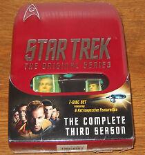 Star Trek: The Original Series - Season Three (DVD, 2004, 7-Disc Set, Collectors Edition)