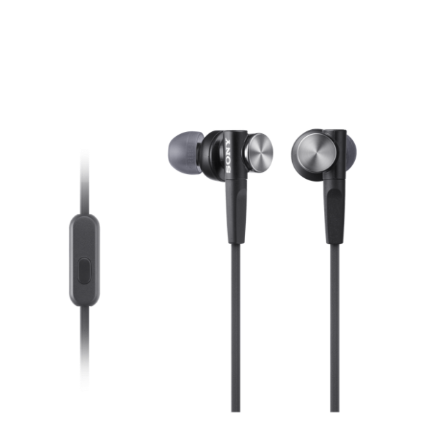 Sony MDR-XB50AP EXTRA BASS™ In-Ear Headphones Ideal for smartphones -Black