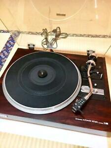 Pioneer-PL-1050w-Wooden-Recoerd-Player-Belt-Drive-Player-Turntable-1979-As-is