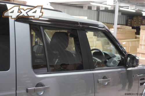 For Land Rover Discovery 3 /& 4 Vent deflectors Set 4 pieces