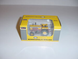 1-64-Minneapolis-Moline-G1000-Tractor-W-Brown-Belly-by-SpecCast-NIB