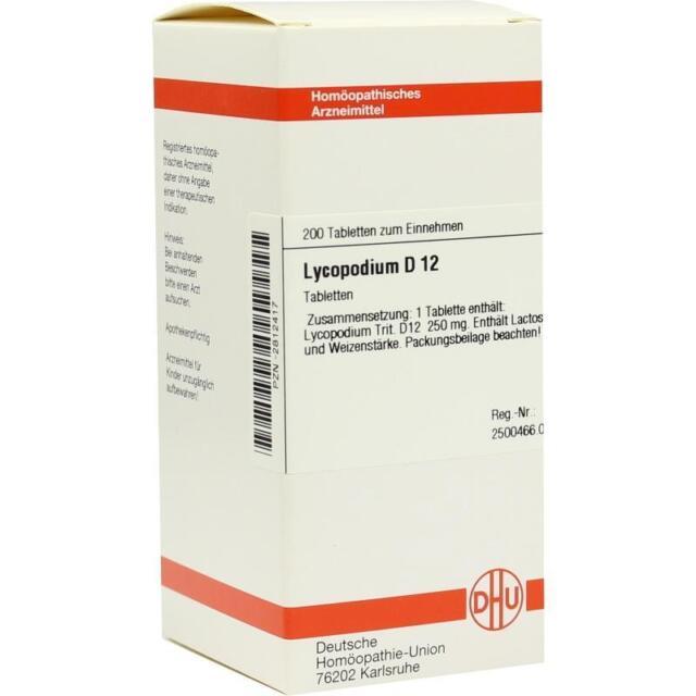 LYCOPODIUM D12 Tabl.   200 st   PZN2812417