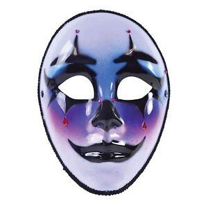 Harley Masque Avec Larme (monture De Lunettes), Halloween, Robe Fantaisie-afficher Le Titre D'origine