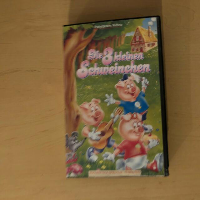 Die 3 kleinen Schweinchen VHS