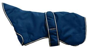Manteau rembourré en polyester imperméable Greyhound d'Outhwaites, bleu marine, 76 cm (30   Outhwaites Greyhound Waterproof Polyester Padded Coat Navy Blue 76cm (30