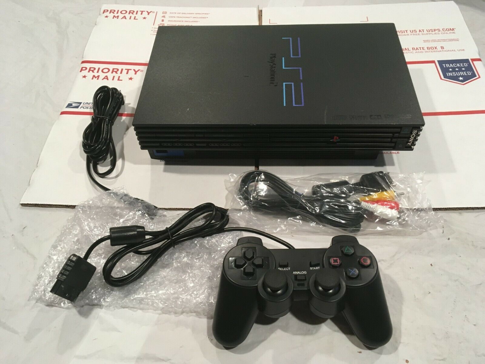 SONY PS2 Console Playstation 2 Complete Video Game System WORKING Ready to Play
