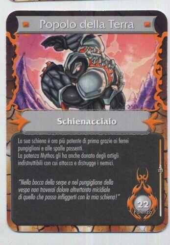 GORMITI Solo Carte Collezionabili Mythos