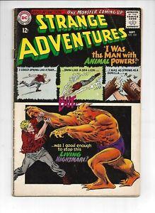 Strange-Adventures-180-DC-1965-1st-Animal-Man-Silver-Age-KEY-F-Nice