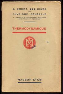G-BRUHAT-THERMODYNAMIQUE-COURS-ENSEIGNEMENT-SUPERIEUR