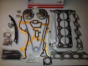 Opel-Corsa-1-2-1-4-16V-T-Port-Kopfdichtung-Set-amp-Schrauben-Steuerkettensatz