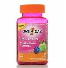 One-A-Day Vitacraves Teen for Her, 60 ea (Pack of 2)