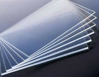 POLISHED CLEAR ACRYLIC PERSPEX SHEET A4 297MM X 210MM, 2MM TO 25MM THICK PLASTIC
