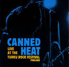Live at Turku Rock Festival [Remaster] by Canned Heat (CD, Feb-2007, Friday Music)