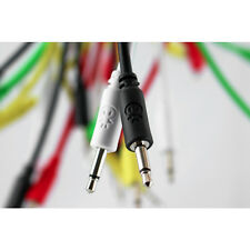Erica sintetizadores Eurorack cables de interconexión 5 Pack (20cm Negro)