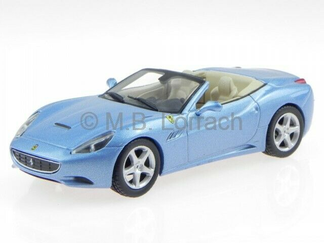 Ferrari California Convertible Red Bburago 1//43 1:43 Collectible Toy Car