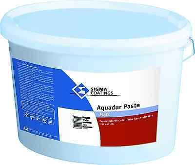 Sporting Sigma Aquadur Paste 3 Kg Faserverstärkte Spachtelmasse Heimwerker Dauerelastisch