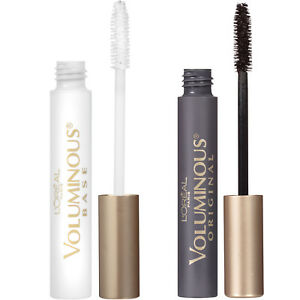 'L'Oréal Paris Voluminous Primer and Original Mascara Gift Set, Set of 2' from the web at 'https://i.ebayimg.com/images/g/OQkAAOSwGPxaKCo7/s-l300.jpg'