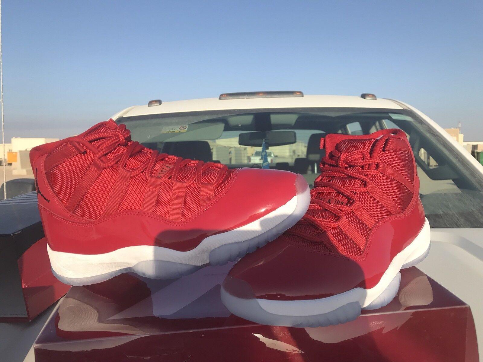 Jordan 11s Gym Red
