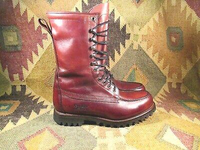 Remington Gore-tex Impermeabile Moc Toe Pelle Caccia Boots 9.5 W Per Migliorare La Circolazione Sanguigna