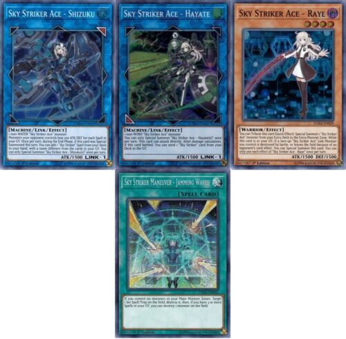 Raye Shizuku 42 Cards Ace Hayate Yugioh Sky Striker Budget Deck NM