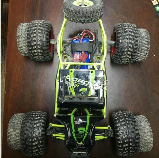 1/12 RC Car Upgraded Large Tires for Wltoys 12428 12423 12628 FY-03 Q46 Q40 Q39