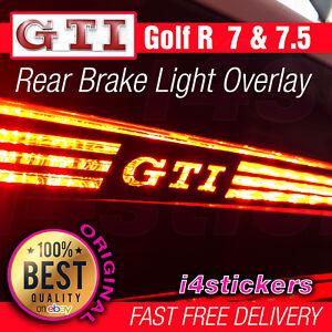 VW-Golf-GTI-MK7-MK7-5-Rear-Middle-High-Brake-Light-Logo-Vinyl-Decal-Sticker